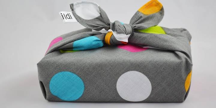 Furoshiki - Geschenke nachhaltig verpacken ohne Papier