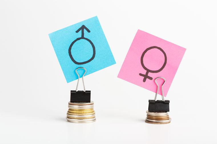 Gehaltsunterschiede zwischen Mann und Frau