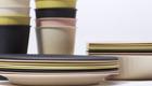 Nicht von Pappe: Geschirr aus Bambuspulver