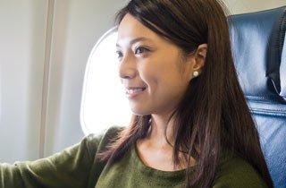 Gesund auf Flugreisen