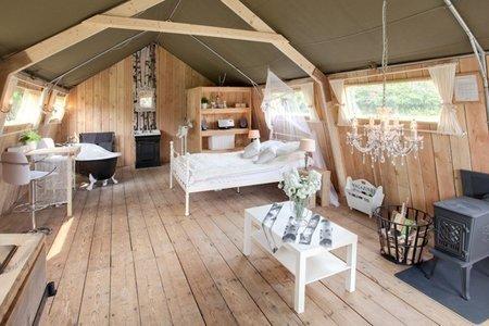 Glamouröses Camping für den kleinen Geldbeutel