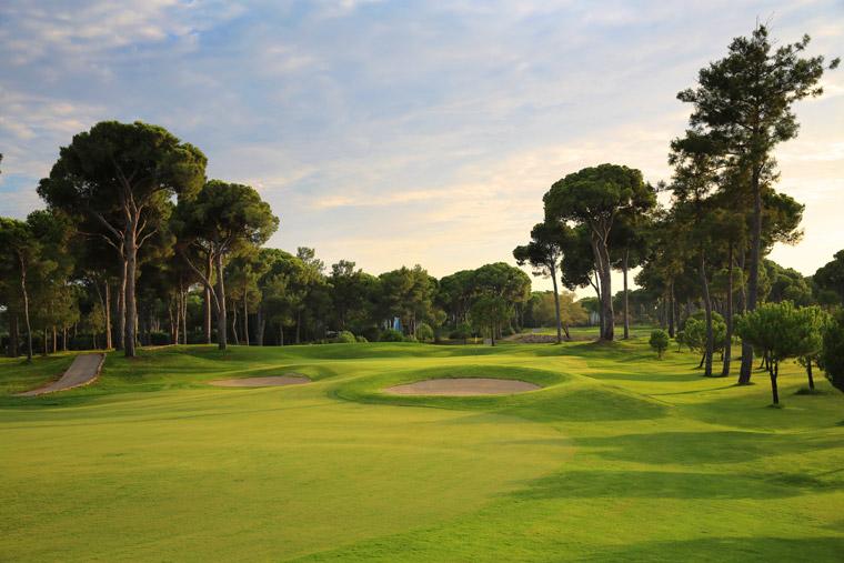 Eine Oase für Golffans: der Gloria Golf Club