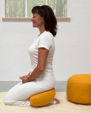 Zeit zum Relaxen – mit dem Meditationskissen