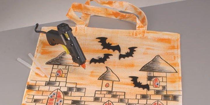 Halloweenstofftasche selbst gemacht