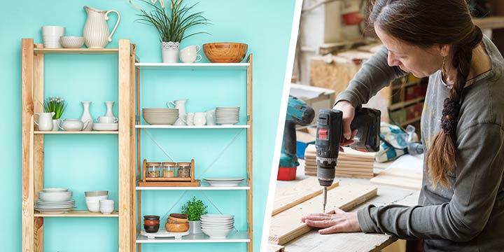DIY Ratgeber: Regal selber bauen