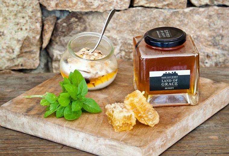 Leckerer, regionaler Honig aus Griechenland.