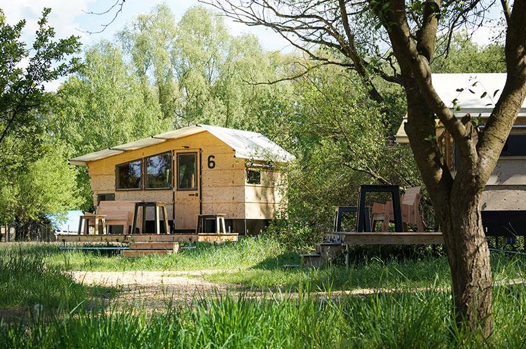 Ferienhütte im destinature Dorf