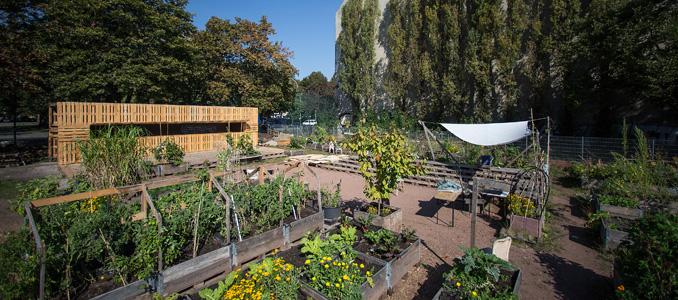 urban gardening und nachhaltige architektur. Black Bedroom Furniture Sets. Home Design Ideas