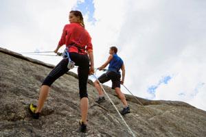 Sicheres Klettern
