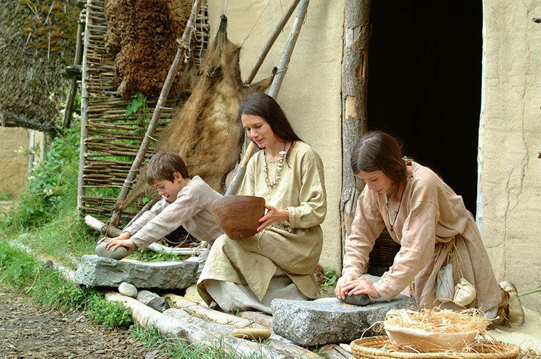 Tauschen Sie Ihr Leben gegen ein Leben in der Steinzeit