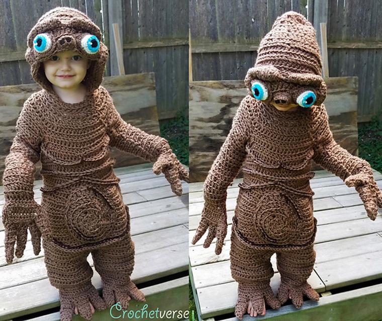 Mit ihrem ET-Kostüm ist Stephanie Pokorny bekannt geworden
