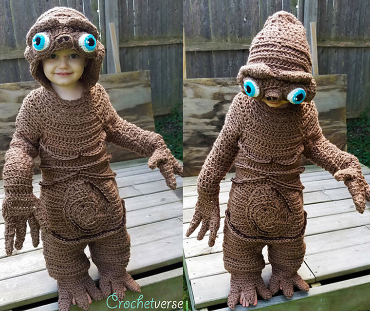 ET-Kostüm selber machen
