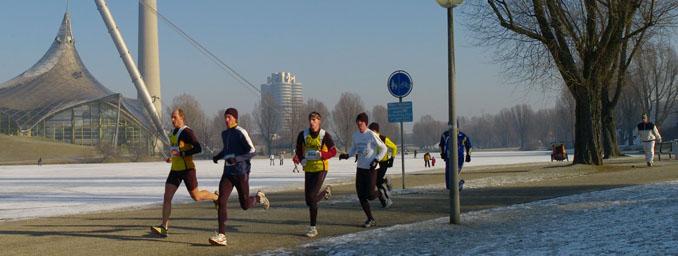 joggen Olympiapark