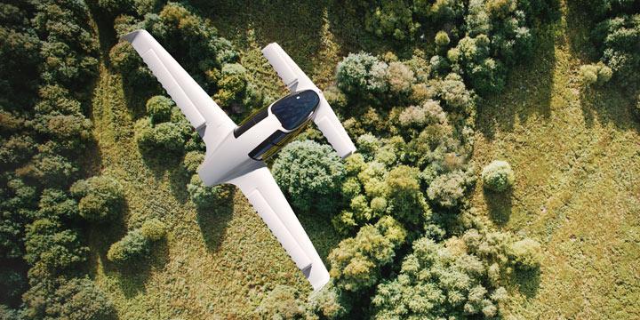 Lilium Jet ist das fliegende Elektro-Auto der Zukunft