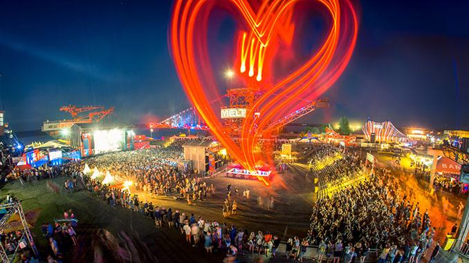 Das MELT! Festival hat ein Herz für die Umwelt © Stephan Flad