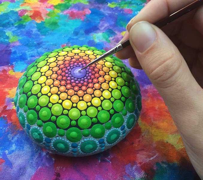 Kunst aus Steinen
