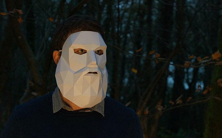 Halloween Maske mal anders