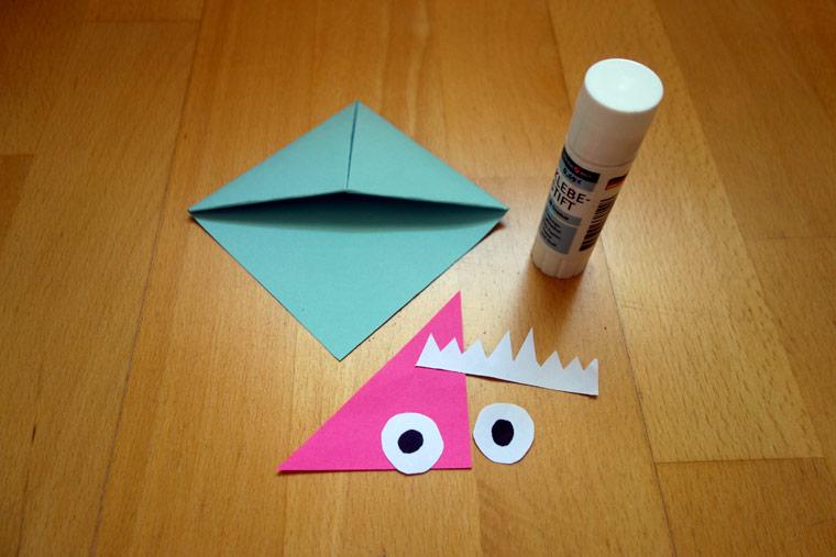 DIY: Witzige Monster-Lesezeichen selber basteln