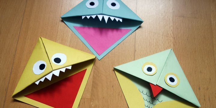 DIY: Süße Monster-Lesezeichen selber basteln