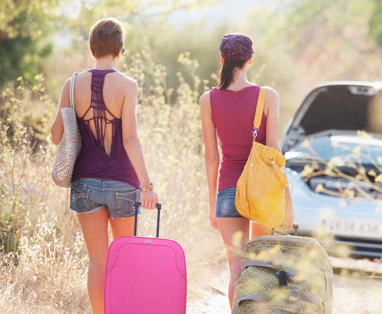 Nachhaltig Reisen mit Flugzeug, Auto und Bahn