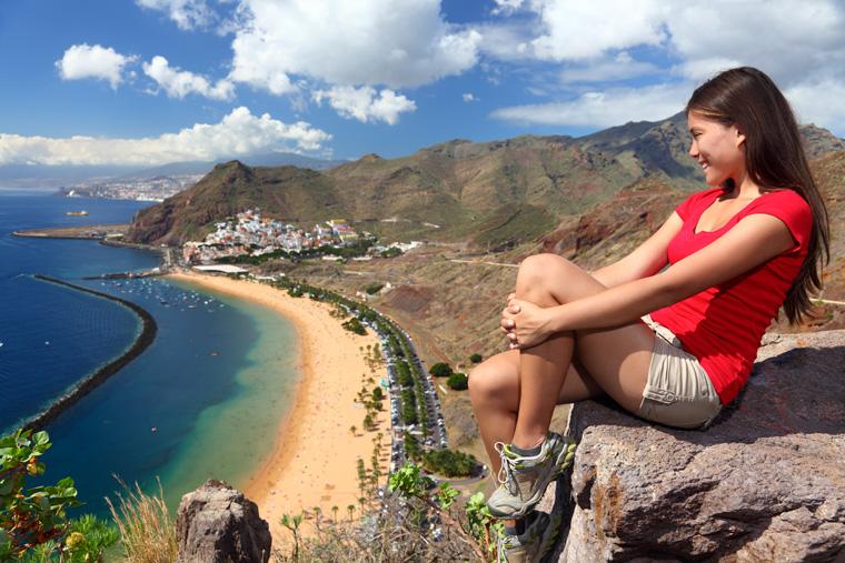 Auf der bliebten spanischen Ferieninsel Teneriffa können Sie jetzt klimaneutral Urlaub machen.
