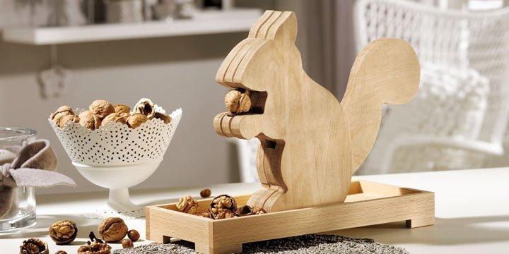 Nussknacker aus Holz zum Selber Basteln