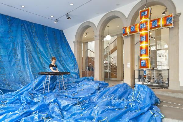 Oh Plastiksack, Kunstausstellung zum Thema Plastik, Winterthur