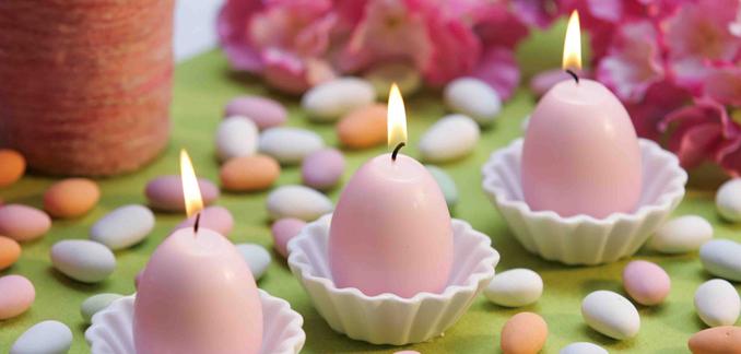 Ostern brunchen Tischdeko