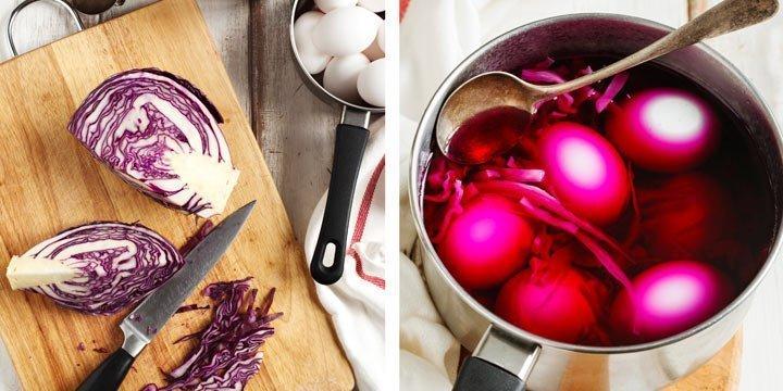 Ostern: Ostereier natürlich färben und verzieren