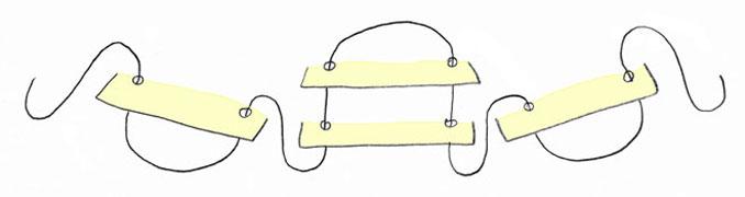Ostern basteln Filz Körbchen