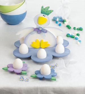 Ostern basteln Osternest