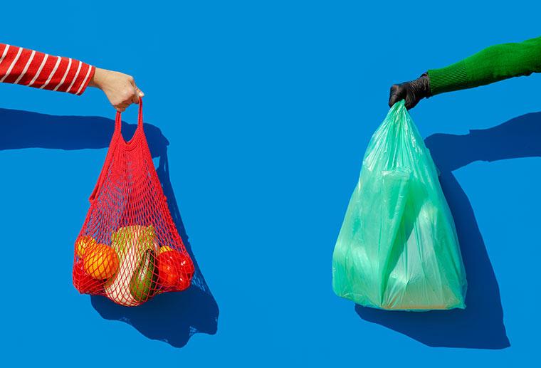 Stoff statt Plastik