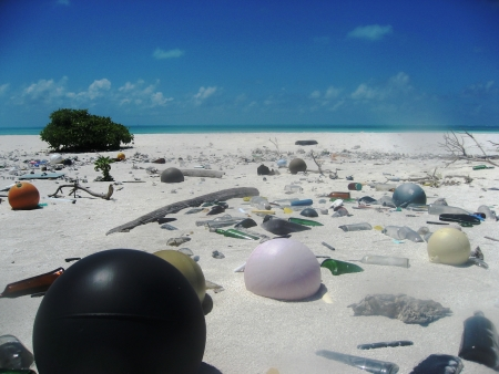 Gefahr für Umwelt und Mensch: Wanderausstellung Plastikmüll in den Meeren in Hamburg