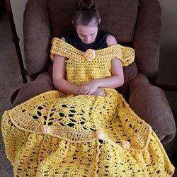 Magische Prinzessinnen-Decken selber häkeln