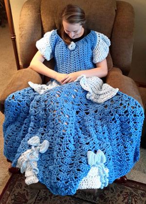 Selbst gehäkelte Prinzessinnen-Decken für Disney-Fans und kleine ...