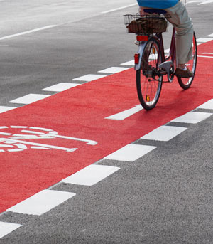 Ausstoß von Stickoxiden durch den Ausbau von Radwegen reduzieren