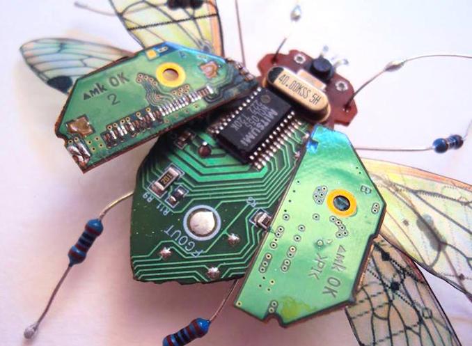 Elektroschrott Upcycling