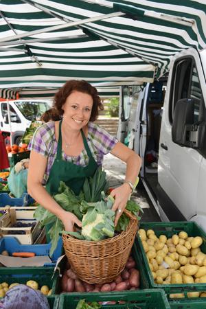 Regional einkaufen eco woman
