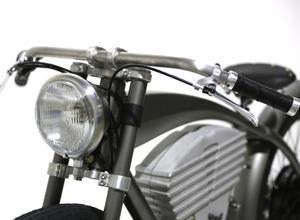 Motorrad Retro E-Bike