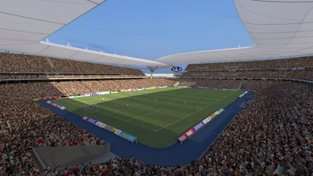 Nachhaltige Architektur für Fußball Weltmeisterschaft 2018 in Russland