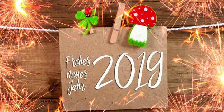 Neujahrswünsche mal anders: Ideen für Silvester