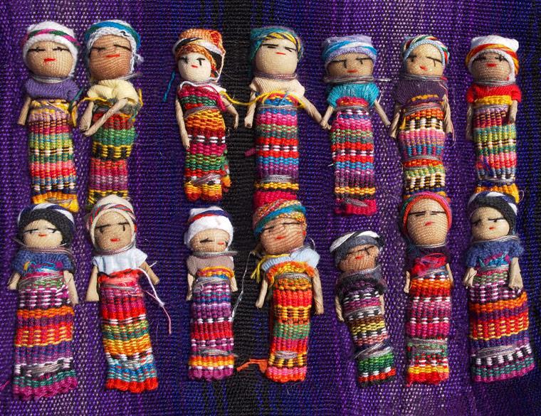Sorgenpüppchen aus Guatemala