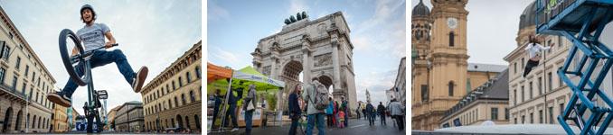 Zahlreiche Aktivitäten können auf dem Festival ausprobiert werden © Green City e. V,