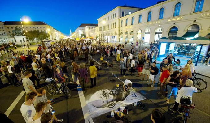 Das Streetlife-Festival ist Münchens größte Flaniermeile © Green City e.V.