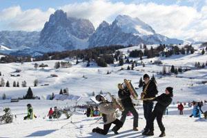 Sing on Snow Festival auf der Seiser Alm