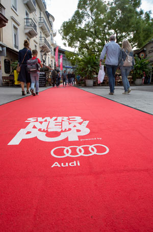 Audi ist Sponsor vom SWR3 New Pop Festival