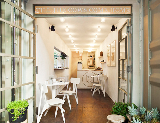 Nachhaltige Architektur Container Slowfood in Berlin