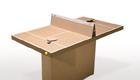 Papp-Kollege: Tischtennis-Tisch fürs Office