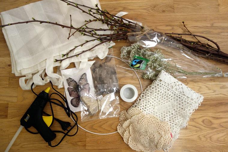 Anleitung Traumfänger: Diese Materialien brauchst du zum Basteln