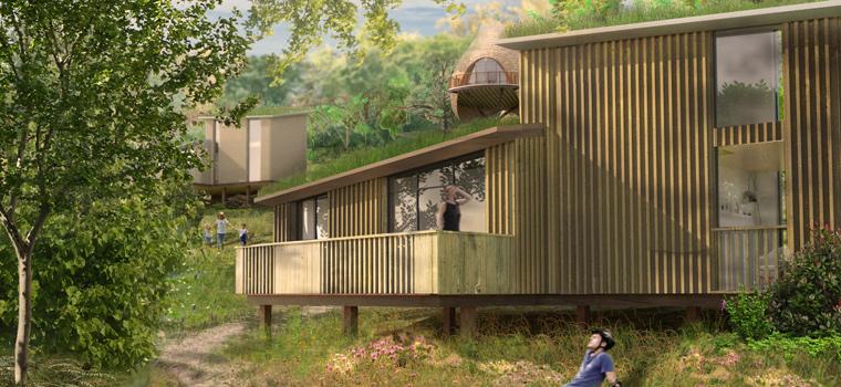 Nachhaltige Materialien für einzigartige Bauten